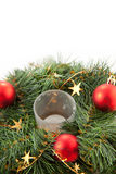 Christmas wreaths Royalty Free Stock Image