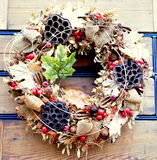 Christmas wreaths. Natural design 2016 Christmas wreaths Royalty Free Stock Photo