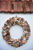 Christmas wreaths Royalty Free Stock Images