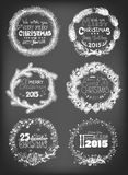 Christmas wreaths Stock Photo