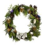 Christmas wreatlh Stock Photos