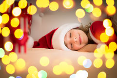 Christmas Xmas Child Holiday Winter Stock Photography
