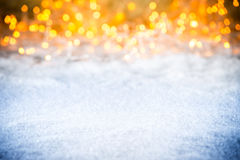 Christmas xmas empty bokeh background Stock Images