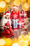 Christmas Xmas Family Holiday Winter Stock Image