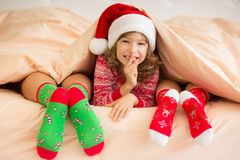 Christmas Xmas Family Holiday Winter Royalty Free Stock Photography