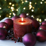 Christmas Xmas Home Decorations Stock Image