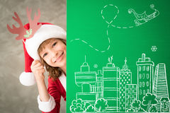 Christmas Xmas Winter Holiday Concept Stock Images
