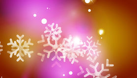 Christmas yellow abstract background Royalty Free Stock Image