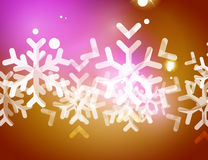 Christmas yellow abstract background  Stock Photos