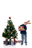 Christmas young child Royalty Free Stock Photo