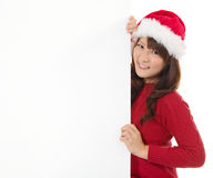 Christmas young gir Royalty Free Stock Photography