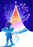 Christmas_Angel Stock Photography