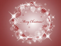 ChristmasBackground Lizenzfreies Stockbild