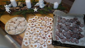 Christmasbaking Arkivbilder