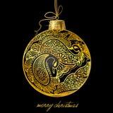 Christmasball illustration Stock Images