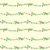 ChristmasBerries ilustração royalty free