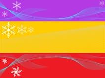 Christmasborders Stock Image
