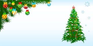 Christmascard-4 Images libres de droits
