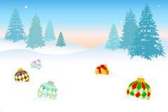 Christmascard - 5 Images libres de droits