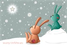 Christmascard_toys Stock Photography