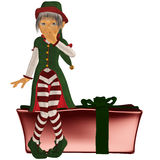 Christmaself 4 Foto de Stock Royalty Free