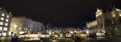 Christmasfair on Market place in Krakow Royalty Free Stock Photos