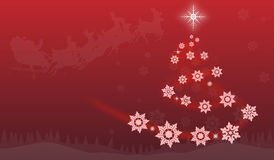 Christmass抽象 免版税库存照片