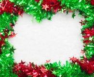 Christmass框架 库存图片