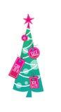 christmass结构树 库存照片