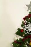christmass装饰光结构树 免版税库存照片