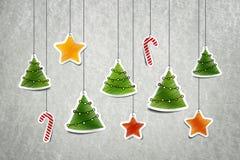 Christmass装饰 免版税库存照片
