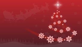 Christmass-Abstraktion Lizenzfreies Stockfoto