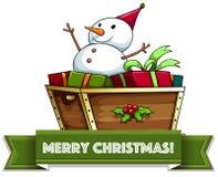 Christmass alegre Fotografia de Stock