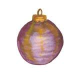 Christmass-Ball lokalisiert Stockfotografie