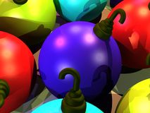 Christmass balls Royalty Free Stock Images