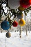 Christmass balls Royalty Free Stock Photography