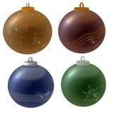 Christmass-balls Stock Photos