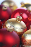 Christmass bauble in box Royalty Free Stock Photography