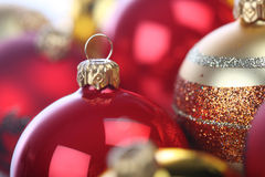 Christmass bauble in box Royalty Free Stock Photo