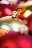Christmass bauble in box Stock Images
