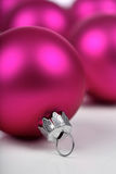 Christmass bauble on white background Stock Image