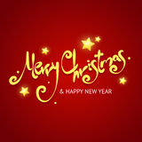 Christmass Card Background. Vector Royalty Free Stock Photo
