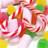 Christmass cukierki obraz stock