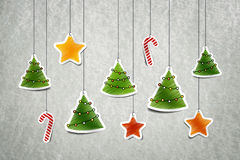 Christmass decoration. Merry Christmass & Happy New Year card Royalty Free Stock Photos