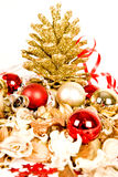 Christmass decorations royalty free stock images
