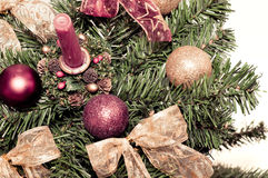 Christmass decorations Royalty Free Stock Image