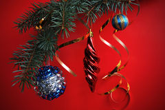 Christmass decorations Stock Photos