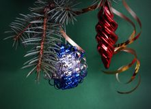 Christmass decorations Royalty Free Stock Photography