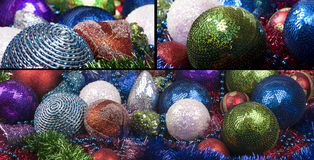 Christmass decorations background Stock Photography