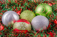 Christmass decorations Royalty Free Stock Photos